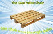 Pallet stoel single