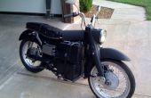 Bouwen van een elektrische motorfiets op een begroting