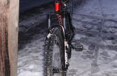 Banden voor een mountainbike ijs