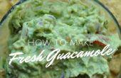 Hoe maak je verse Guacamole