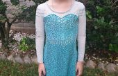 Elsa/Frozen jurk