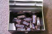 Snickers verbergen plaatsen