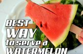 Beste manier om te dienen een watermeloen