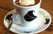 Constante commentaar thee Cupcake met theezakje gezegde