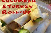Turkije komkommer oprollen