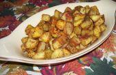 Frietjes van zoete aardappel Home