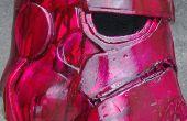 Starwars stormtrooper helm met behulp van eva-schuim