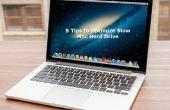 5 tips voor het optimaliseren van trage Mac Hard Drive