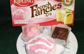 Kartonnen Props: Hoe maak je een prop Cake (Frans Fancies)