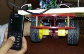 Mobiele controlled robotic auto met behulp van de arduino en DTMF