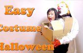Een monster dat u te voeren. De beste kostuum DIY last-minute #Halloween