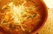 Hoe maken Pistou soep