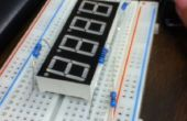 7 segment Display klok