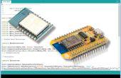 Instellen van de Arduino IDE naar programma ESP8266