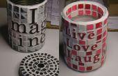 Kan kunst: Een manier om Recycle sommige blikjes