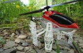 De 3.5-kanaal S032G afstandsbediening helikopter Landing Skids upgraden
