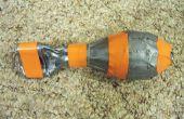 Herbruikbare aardappel Cannon munitie