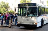 GPS het Bus-volgen op de goedkope