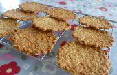 Haver Tuiles (krokante Cookies) - eenvoudig recept