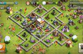 Clash van Clans Lvl 6 stadhuis Base