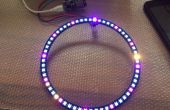 Wol klok ESP8266-12E + 60 LED WS2812B digitale analoge klok