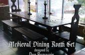 Hoe het bouwen van een middeleeuwse eetzaal Set