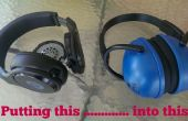 Audiofiele maaien oorkappen