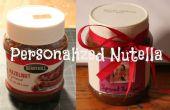 Gepersonaliseerde Nutella