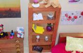 DIY LPS meisje miniatuur poppenhuis slaapkamer