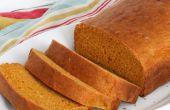 2-ingrediënt pompoen brood