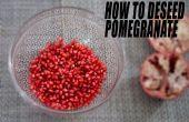 Ondersteuning deseed uw granaatappel - beste techniek