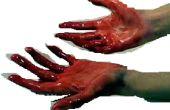 Hoe bloed uit uw kleding schoon: Sanguine vloeistof worden-gone