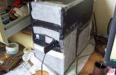 Filter zuiveringsinstallatie van de computer van de stof