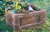 Hoe maak je een tuin trog (Hypertufa Planter)