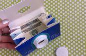 Kinder Craft: melk karton portemonnee