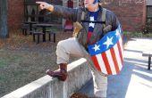 Tweede Wereldoorlog Captain America Bucky Rescue Outfit