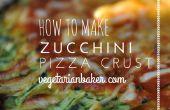 How To Make courgette Pizza korst | Glutenvrije