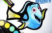 Snelheid schilderij Dory op schuim