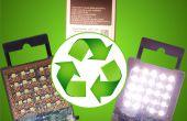 Maak je een krachtige oplaadbare zaklamp uit een gebruikte batterij (aarde dagdeel II)