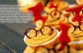 Peer en karamel cupcakes (32) - Harry Potter (GF)