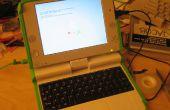 Het installeren van een USB-toetsenbord in een OLPC XO Laptop, fase I