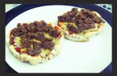 Gezond rijst taart Pizza