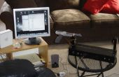 Theremin w/Zapper, laser, Arduino