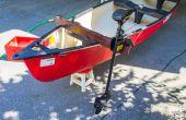 Elektrische Motor kano trollen