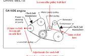 Aanpassen van Nissan Sentra Serpentine riemen