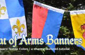 DIY wapen vlaggen & Banners