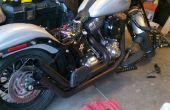 Hoe te repareren en motorfiets uitlaatpijpen Repaint