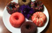 Chocolade doopte Ice Cream donuts