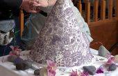 Balinese geïnspireerd henna/mehndi bruidstaart