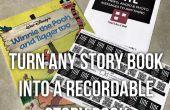 Omzetten van elk boek in een opneembare Story Book - (met video)